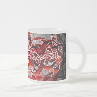 Alejandro Frosted Glass Coffee Mug