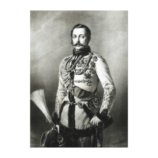 Alejandro II de Rusia Impresion En Lona