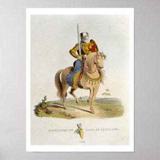 Alejandro II, rey de Escocia (1198-1249) 1214, f Poster