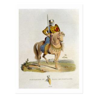 Alejandro II, rey de Escocia (1198-1249) 1214, f Postales