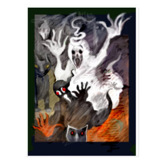 **Alejandro's Halloween legend** Postcard