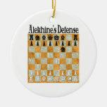 Alekhine's Defense Ornament