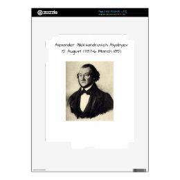 Aleksander Aleksandrovich Alyabyev Decals For iPad 2