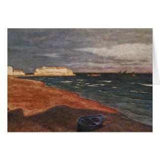 Aleksander Gierymski -seaside Card