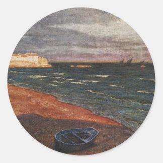Aleksander Gierymski -seaside Classic Round Sticker