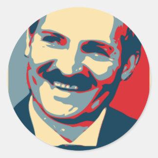 Aleksandr Lukashenko maladec Classic Round Sticker