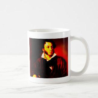 Aleksandr Pushkin Classic White Coffee Mug