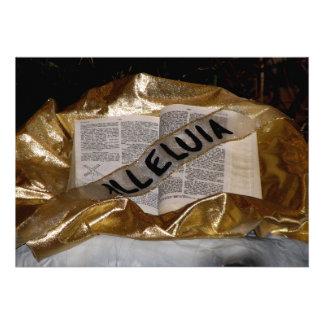 Aleluya biblia y marco