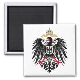 Alemán águila de imperio imán cuadrado