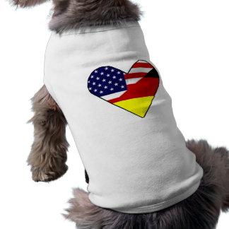Alemán - americano ropa de mascota