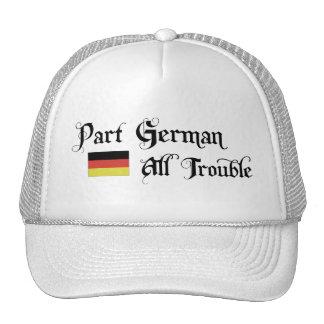 Alemán de la parte todo el problema gorras de camionero