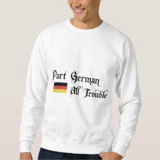 Alemán de la parte todo el problema sudadera