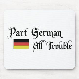 Alemán de la parte todo el problema alfombrilla de raton