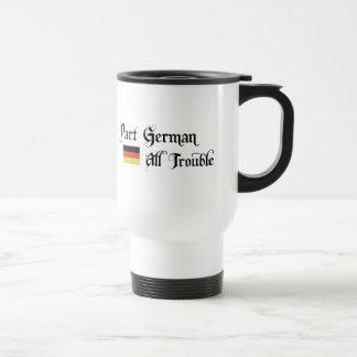 Alemán de la parte todo el problema tazas