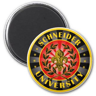 Alemán de la universidad de Schneider Imán Redondo 5 Cm