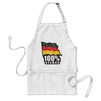 Alemán del 100% delantal