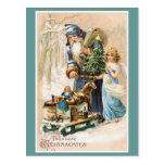"Alemán del vintage de ""Frohliche Weihnachten"" Tarjetas Postales"