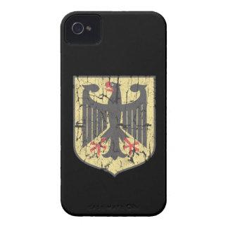 Alemán Eagle, apenado iPhone 4 Case-Mate Cárcasa