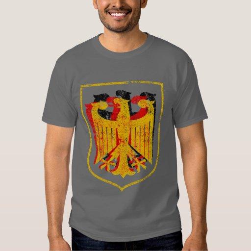 Alemán Eagle artístico Playera