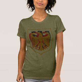 Alemán Eagle artístico Tee Shirts
