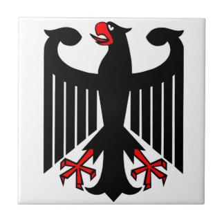 Alemán Eagle Azulejo Cuadrado Pequeño