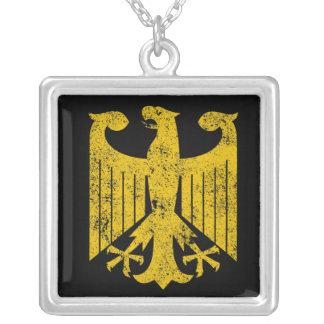 Alemán Eagle Colgante Cuadrado