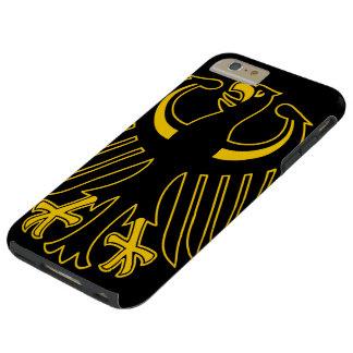 Alemán Eagle del vintage Funda De iPhone 6 Plus Tough