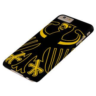 Alemán Eagle del vintage Funda Para iPhone 6 Plus Barely There