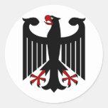 Alemán Eagle Etiqueta Redonda