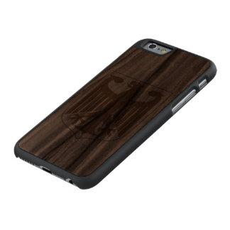 Alemán Eagle Funda De iPhone 6 Carved® Slim De Nogal