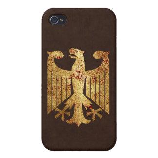 Alemán Eagle iPhone 4/4S Fundas