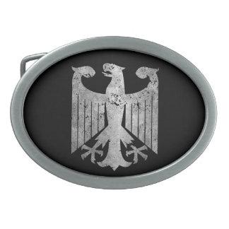 Alemán Eagle Hebillas Cinturon Ovales