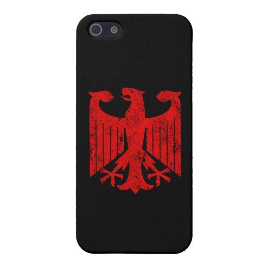 Alemán Eagle iPhone 5 Funda