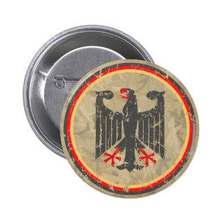 Alemán Eagle Pin Redondo De 2 Pulgadas