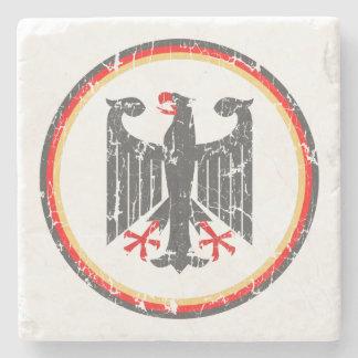 Alemán Eagle Posavasos De Piedra