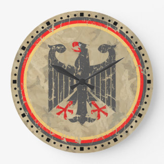 Alemán Eagle Reloj De Pared