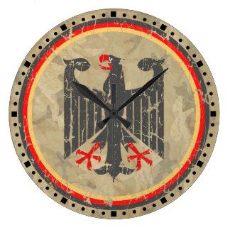 Alemán Eagle Reloj Redondo Grande