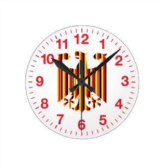 Alemán Eagle Reloj Redondo Mediano