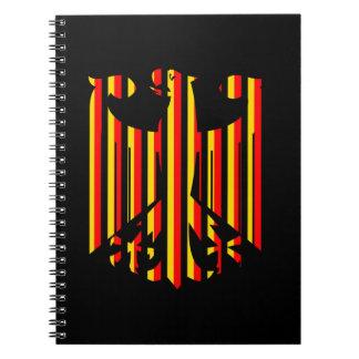 Alemán Eagle Spiral Notebooks