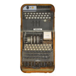 Alemán Enigma del vintage WWII Funda De iPhone 6 Barely There