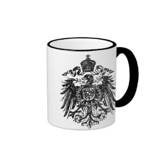 Alemán imperial Eagle Taza A Dos Colores