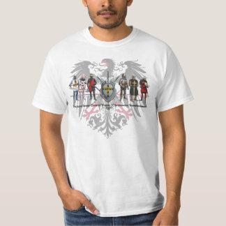 Alemán orden águila con caballeros Shirt Playera