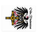 Alemán orden águila de emperador tarjeta postal
