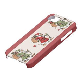 Alemán Papá Noel del Viejo Mundo del vintage iPhone 5 Carcasas