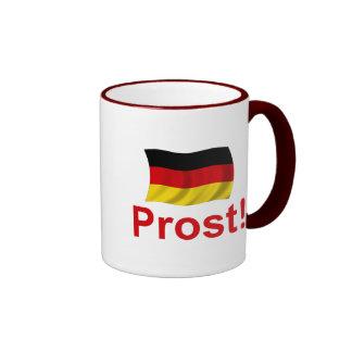 ¡Alemán Prost! Tazas De Café
