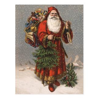 Alemán Santa Postales