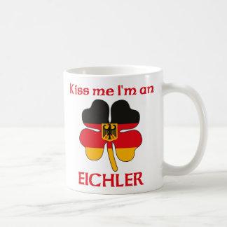 Alemanes personalizada me besan que soy Eichler Tazas De Café