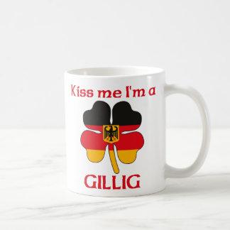Alemanes personalizada me besan que soy Gillig Taza Clásica