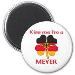 Alemanes personalizada me besan que soy Meyer Iman De Frigorífico