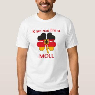 Alemanes personalizada me besan que soy Moll Remeras